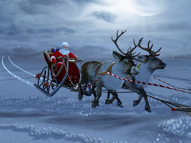 Santa Claus 3D Screensaver 1.0