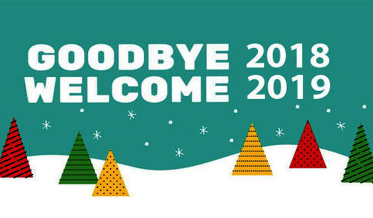 goodbye bye bye 2018 whatsapp status dp welcome 2019 new year wishes images