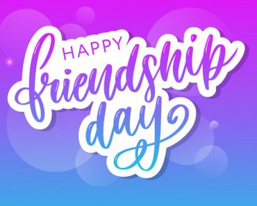 Happy Friendship day 2019