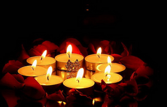 2020 happy 2020 Diwali Candles Images